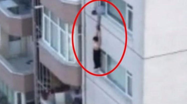 İstanbul'da dehşet anları kamerada